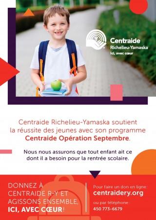 150 000 $ pour aider les élèves du territoire Richelieu-Yamaska