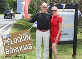 Claude Péloquin chez Borduas !