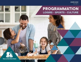 Programmation Loisirs-Sports-Culture – Hiver 2021 : Mont-Saint-Hilaire adapte ses activités hivernales au contexte pandémique actuel