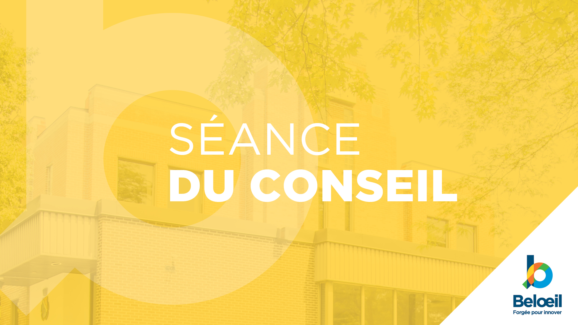 Conseils de ville de Beloeil