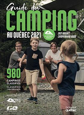 Lancement du Guide du camping au Québec 2021 L'outil de référence par excellence sur les terrains de camping du Québec depuis 1963
