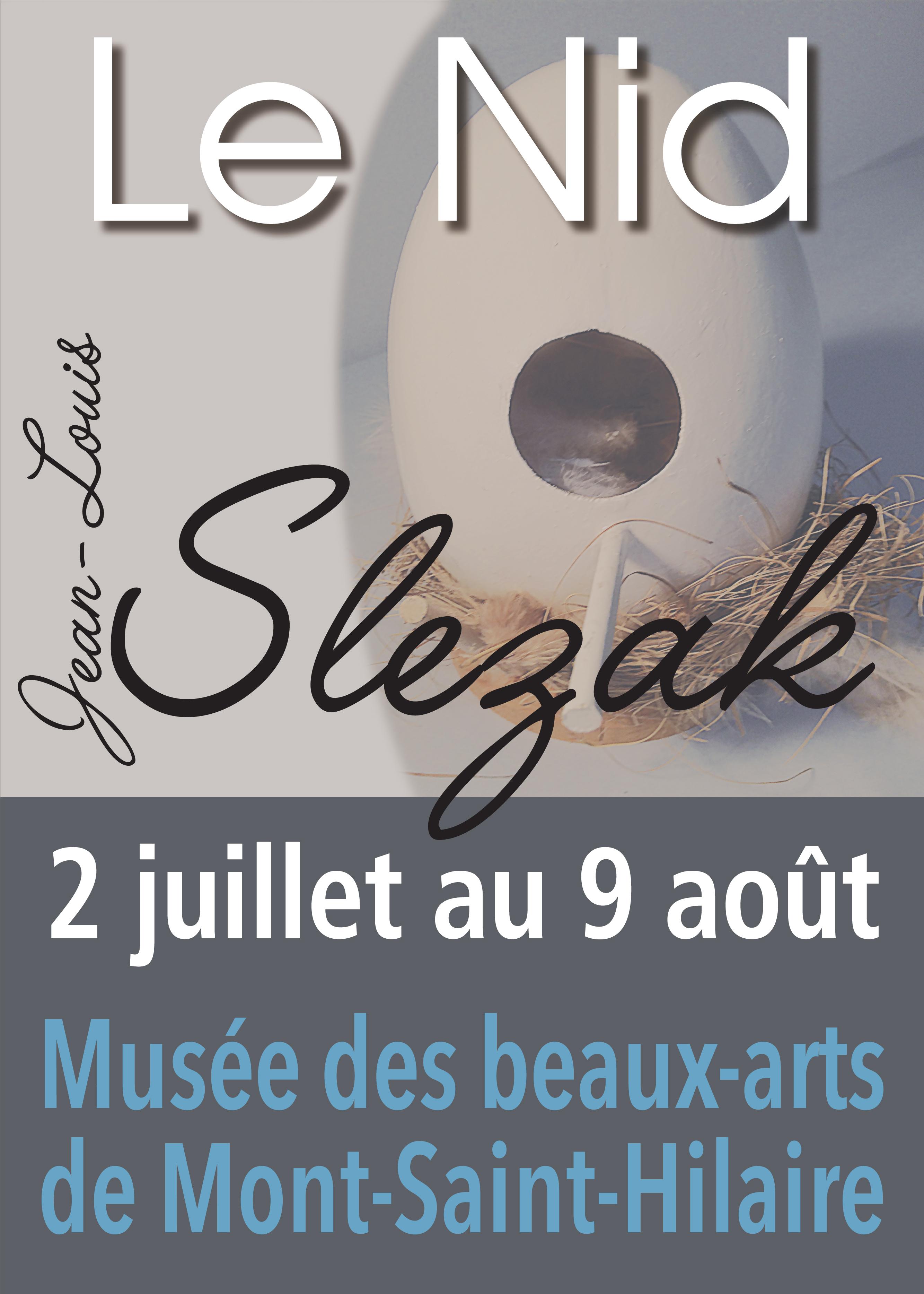 Le nid Les sculptures-mémoire de Jean-Louis Slezak