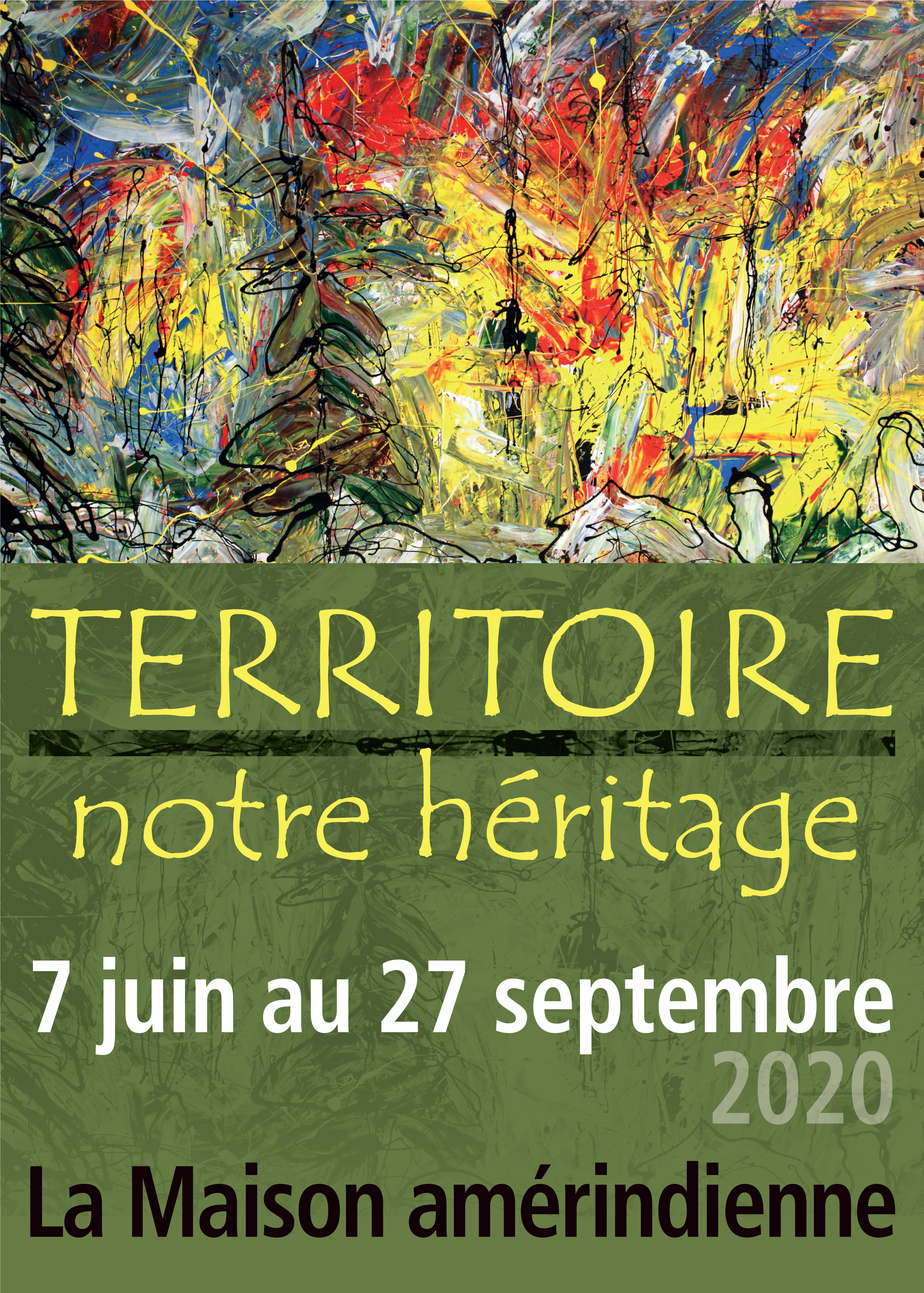 L'exposition Territoire – notre héritage, un hommage à vingt ans d'existence !
